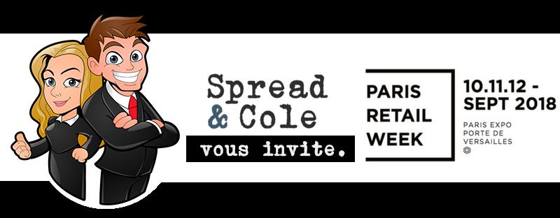 Spread&Cole et Paris Retail Week