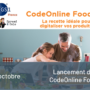 Lancement de CodeOnline Food