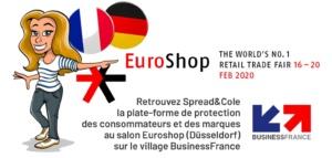 Spread&Cole expose à Euroshop en 2020